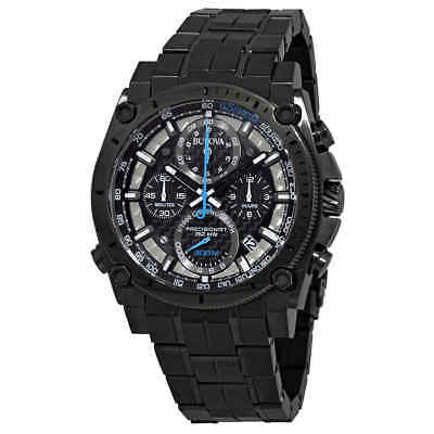Bulova Precisionist Chronograph Black Dial Men's Watch 98B229