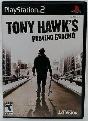 Tony Hawk's Proving Ground COMPLETE GAME for Playstation 2 PS2