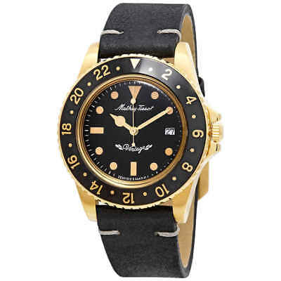 Mathey-Tissot Rolly Vintage Black Dial Men's Watch H900PLN