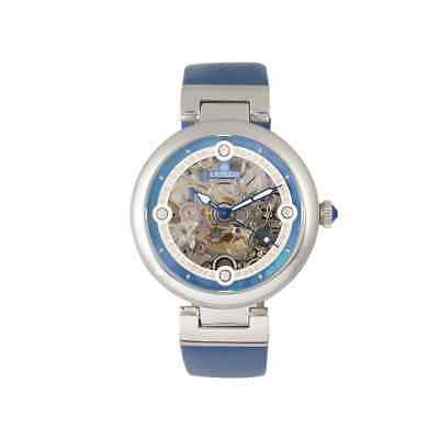 Empress Adelaide Automatic Crystal Blue Dial Ladies Watch EMPEM2505