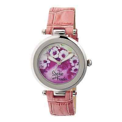 Watch Freda Ladies Versailles Painted Porcelain Dial Sf1502 Sophie And Igyvm7Ybf6
