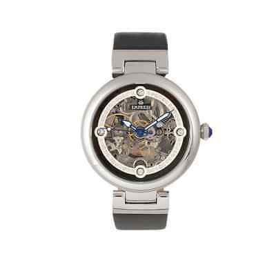Empress Adelaide Automatic Crystal Black Dial Ladies Watch EMPEM2504