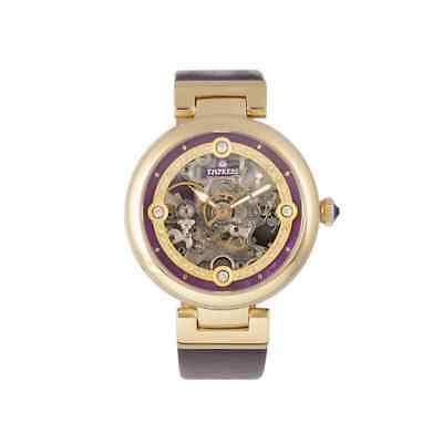 Empress Adelaide Automatic Purple Dial Ladies Watch EMPEM2506
