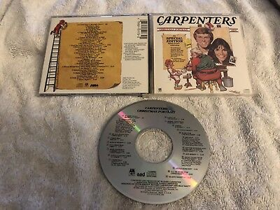The Carpenters Christmas Portrait A&m Us Cd Early Dadc Rare Oop