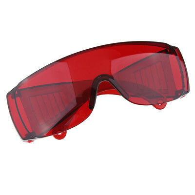 Industrial Safety Goggles Work Glasses Eye Protection Eyewear Red