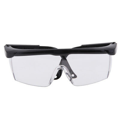 Anti-impact Work Welding Safety Eye Protective Goggles Glasses Transparent