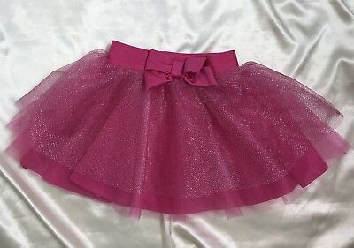 CARTER'S Tutu Size 3T Toddler Girl's Hot Pink Tulle Bow
