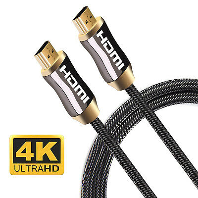 HDMI Cable Ultra HD 4K 3D HDR High Speed Compatible 2.1 2.0a 2.0 1.4a 1.4 AU Lot