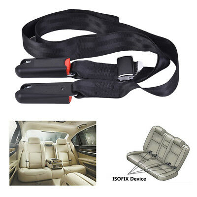 Car Seat Latch Strap Soft Link Seat Belt Adjustable Anchor Holder With Buckle
