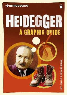 Introducing Heidegger: A Graphic Guide, Jeff Collins, Excellent