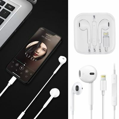 8 Pin Bluetooth Wired Headset Headphone Earphone For iPhone 7 8 Plus X XR XS Max