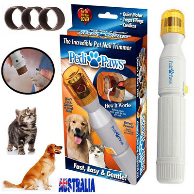 Nail Trimmer Grinder Grooming Tool Care Clipper For Pet Dog Cat Paw Salon Cutter