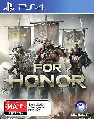 FOR HONOR ANZ PS4 Playstation 4 BRAND NEW Free Delivery Australia wide