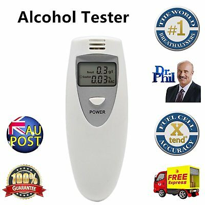 New Portable MINI Digital LCD Alcohol Breath Tester Analyzer Breathalyzer MU