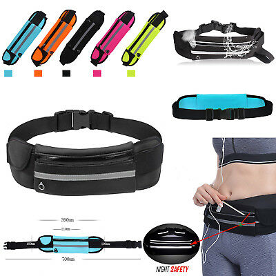Running Belt Unisex Sport Jogging Keys Mobile Money Bum Bag Waist Travel Pouch