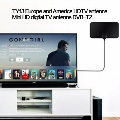 50Mile Range Antenna TV Digital HD Skywire 4K Antena Digital Indoor HDTV 1080p F
