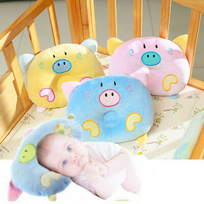 Soft Infant Baby Pillow Prevent Flat Head Memory Foam Cushion Sleeping Support