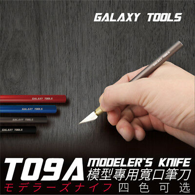 Galaxy Model T09A 6mm Modeler's Hobby Knife Cutter Model Building Tools 4 Colors