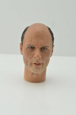 "1/6 Male Head Sculpt Ed Harris Enemy at the Gates Carved Model F 12"" Figure Body"
