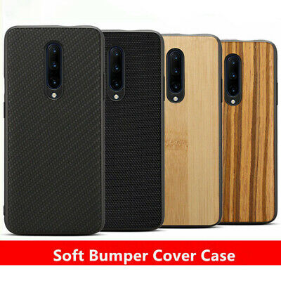 For OnePlus 6 5T 5 6T Shockproof Carbon Fiber Nylon Slim Protective Case Cover