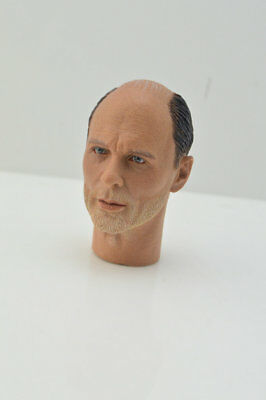 "1/6 Male Ed Harris Head Sculpt Enemy at the Gates Carved F 12"" Figure Body Toys"
