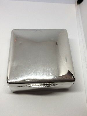 Sterling Silver Box - Joseph Braham - London - 1904