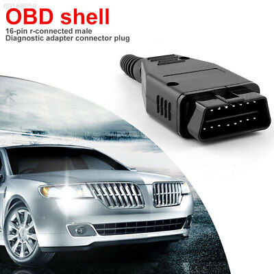 1B87 OBDII Diagnostic Cable Male Connector 16 Pin Vehicle Adapter Plug DIY Car