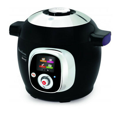 Moulinex Cookeo + Multicooker Intelligente App Connect Bluethoot 150 Ricette Ita