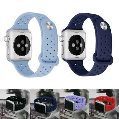 Sport Band Strap  Apple Watch Series 3/2/1 42mm 38mm Replacement Silicone Strap
