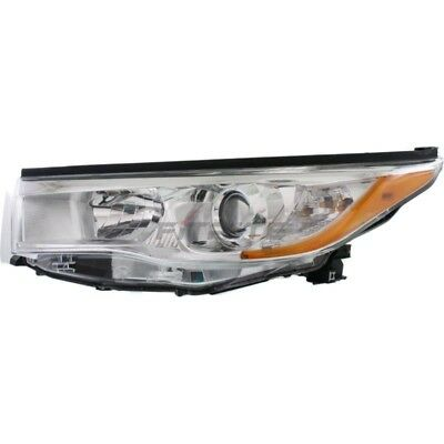 New Left Side Head Lamp Assembly For 2014-2016 Toyota Highlander To2502221