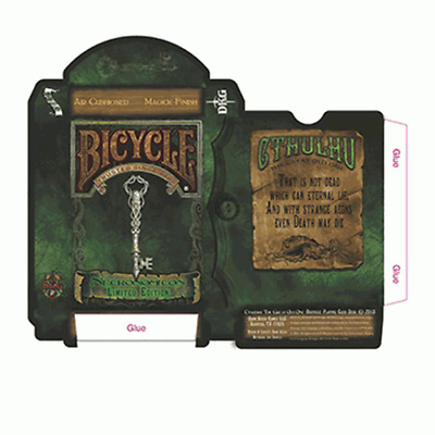 Mazzo di carte Bicycle Necronomicon Limited Edition Playing Cards
