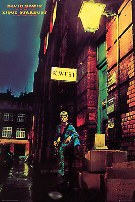David Bowie Ziggy Music Rock Maxi Poster Print 61x91.5cm | 24x36 inches