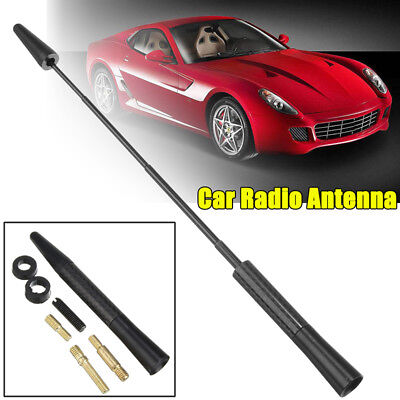 4.7'Universal Replacement Car Black flexible Roof Aerial Antenna Mast Bee Sting
