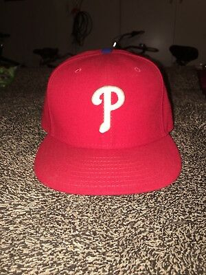 low priced 771cc 25919 ... release date new era philadelphia phillies game 59fifty fitted hat red mlb  cap 2a869 dd893
