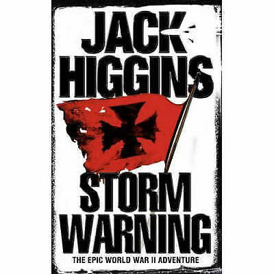 Storm Warning, Higgins, Jack, New Book