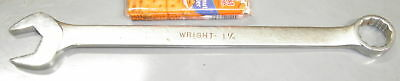 "1-1/4"" Combination Wrench Forged USA Wright 1140"