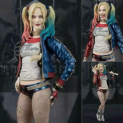"Suicide Squad Harley Quinn 6"" Action Figure Model PVC Crazy Toys Doll Collection"