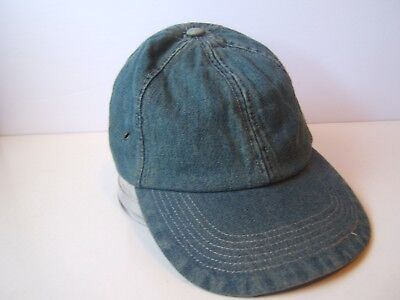 Plain Blank Denim Hat One Size Stretch Fit Baseball Cap