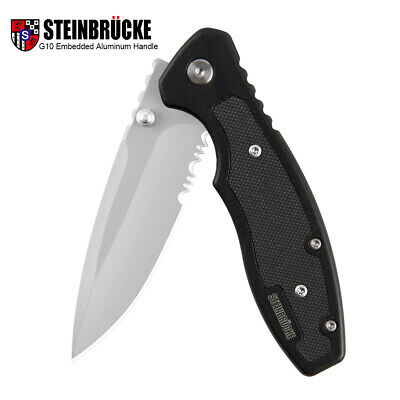 Tactical Pocket Knife Folding Knife Spring Assisted Opening Hunting Outdoor