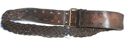 French Troupe Coloniale  Officer's Plaid Belt.