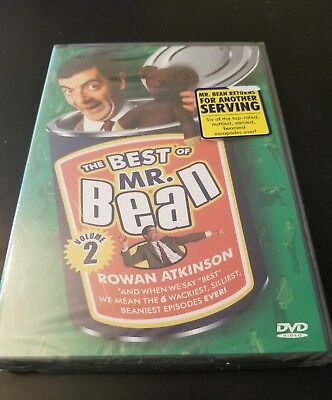 The Best of Mr. Bean - Vol. 2 (DVD, 2008) Brand New Free S&H Rowan Atkinson (F1)