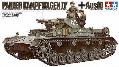 German Panzer IV Ausf. D - 1/35 Military Model Kit - Tamiya 35096