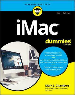 iMac For Dummies by Mark L. Chambers Paperback Book Free Shipping!