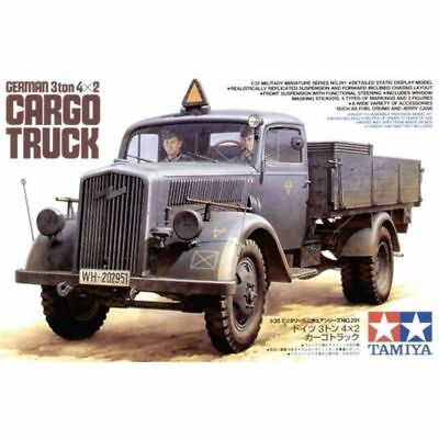 German 3ton 4X2 Cargo Truck - 1/35 Military Model Kit - Tamiya 35291