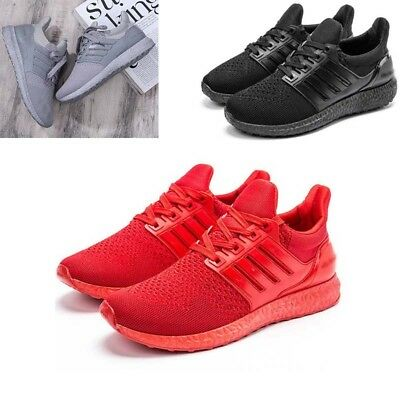 Women Men Ultra Light Weight Shoes Work Trainers Sports Running Size Fashion New