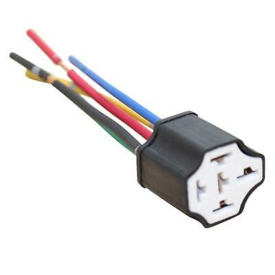CAR 12V DC Automotive 5 Pin 4 Wire Changeover Relay ... Dc Pin Relay Wiring on