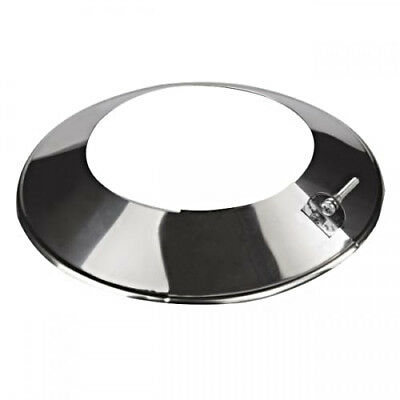 Stainless Steel Pipe Storm Collar Chimney Liner Flange Roof Rain Cover