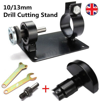 10/13mm Electric Drill Cutting Stand Machine Bracket Rod Bar Table Angle Grinder