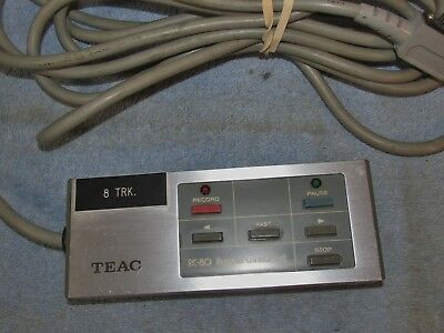 Vtg TEAC RC-80 Remote Control Reel To Reel Tape Player/Deck AS-IS J0682