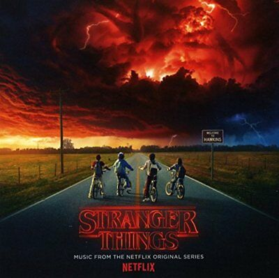 Stranger Things Music From The Netflix Original Series [CD]